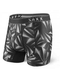 Calzoncillos Deportivos SAXX Impact Boxer Black Rocket