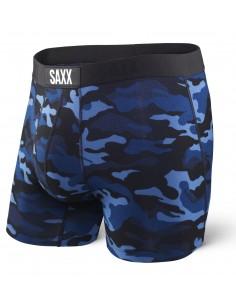 Calzoncillos de Moda SAXX Vibe Boxer Blue Camo