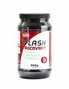 Flash Recovery PUSH BARS Sabor Fresa y Plátano (800g)