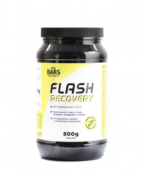 Flash Recovery PUSH BARS Sabor Vainilla (800g)