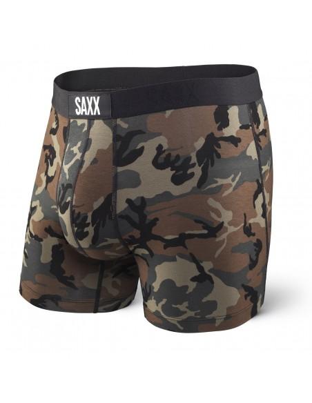 Calzoncillos de Moda SAXX Vibe Boxer Woodland Camo