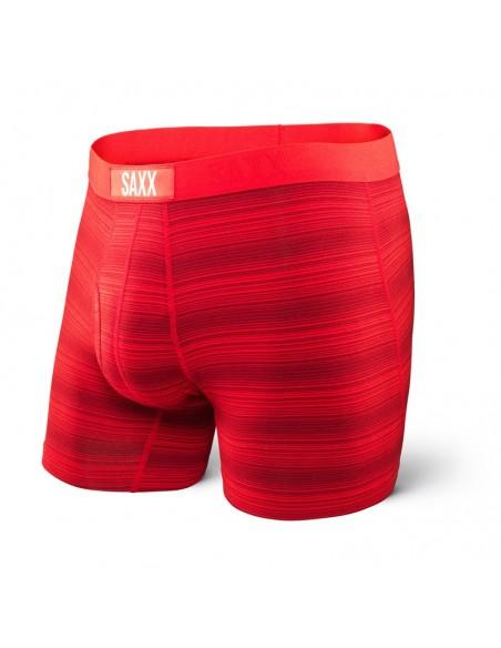 Calzoncillos de Moda SAXX Ultra Boxer Fly Red Hot Ombre Stripe
