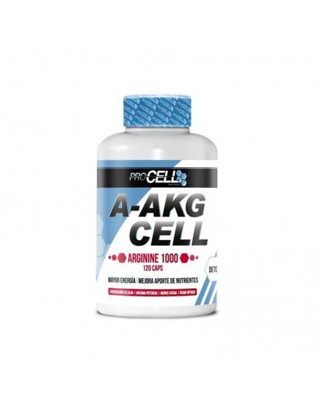 Pre-Entreno PROCELL A-AKG Cell 120 cápsulas